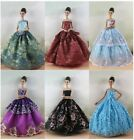 New 6 PCS Princess Dress/Wedding Clothes/Gown For 11.5in.Doll S631