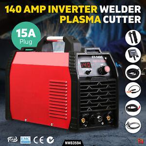 Inverter 140Amp Welder Plasma Cutter Gas DC iGBT Portable Welding Machine