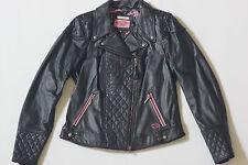 Harley Davidson Women's SPECIAL Swarovski PINK LABEL Leather Jacket 97118-12VW L