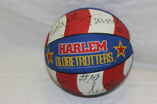 HARLEM GLOBETROTTERS 2 AUTOGRAPH SIGNATURES BADEN TEAM BALL WITH CASE