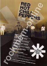 Red Hot Chili Peppers Stadium Arcadium LP Tour Advert