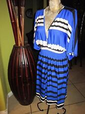 HyPNOTIK!>Poly Spandex Dress!>Empire>Cross Over Top>Size L