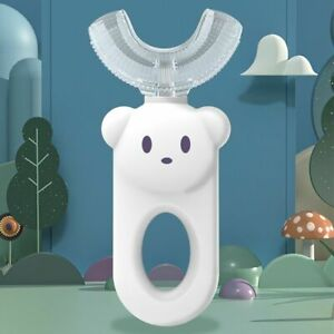Silicone U-Shape Toothbrushes Kids Manual Toothbrushes Toddler Teeth Cleaning