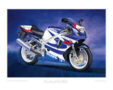 "Suzuki GSX-R750K1 GSXR - Limited Edition Art Print (of 50 only) 20""x16"""