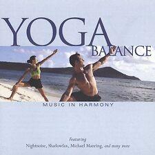 Yoga CD Balance Better Living Through Music New Factory Sealed Exercise CD Yoga