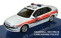 SCHUCO 04181 VAUXHALL VECTRA SALOON model car LANCASHIRE POLICE 1:43rd scale
