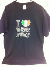 I Love To Fist Pump T-Shirt T Shirt shirt Italian Heart Jersey Shore Medium New
