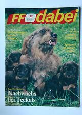 DDR Fernsehzeitschrift FF Dabei RARITÄT 38/1987 TOP !!