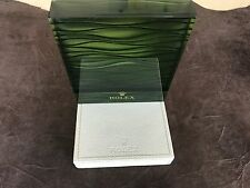Rolex watch window display genuine 100% green n. 13