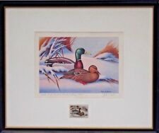 Rare ARTIST PROOF First of State Maryland Duck Stamp Signed Print John W. Taylor