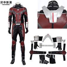 HZYM 2016 Ant Man Costume Captain America Civil War Cosplay Fight Suit&Props