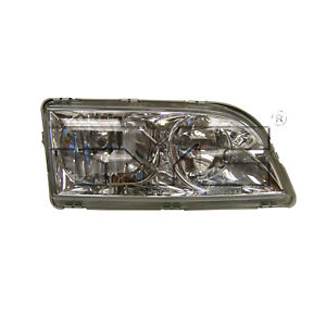 Headlight Headlamp for 00-04 Volvo S-40 (Chrome/Old Style) Right Passenger