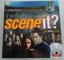 """BRAND NEW """"TWILIGHT SCENE-IT"""" THE DVD TRIVIA GAME BY SCREEN LIFE GAMES"""