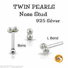 Pearl Nose Piercing Jewellery