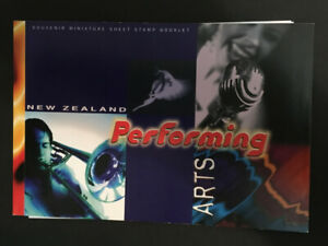 NEW ZEALAND 1998 SPECIAL BOOKLET-PERFORMING ART