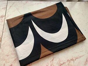 MARIMEKKO single duvet cover cotton 78*57 inch color  brown-white-black