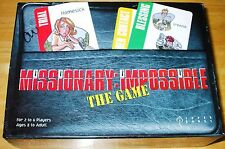 MISSIONARY IMPOSSIBLE GAME RARE! LDS MORMON FHE 100% COMPLETE! CARDS ARE NICE!