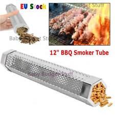 12In esagonali Affumicatore BBQ Grill pellet di legno calda e fredda FUMARE Mesh Tubo Generatore