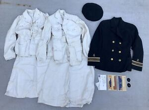 WWII WW2 US Navy Nurse Corps UNIFORM LOT Womens Dated And Named PLUS Letters