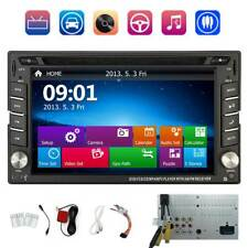 "Car Stereo Touch Screen Bluetooth Radio Double 2 Din 6.2"" Cd Dvd Player 1080P"