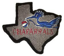 "1970-72 Dallas Chaparrals Aba Basketball Hardwood Classics 5.5"" Chenille Patch"