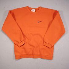 Vintage Nike Sweatshirt Orange Youth Size Medium