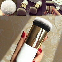 Pro Flat Foundation Face Blush Kabuki Powder Contour Makeup Brush Cosmetic Tools