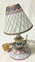 """10"""" Lamp With Shade New Item # 10863 Hand Painted NEW."""
