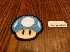 Super Mario Patches Bioworld Nintendo Mushroom Blue