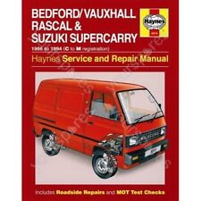 Haynes Bedford/Vauxhall Rascal and Suzuki Supercarry (86 - Oct 94) C to M Reg -