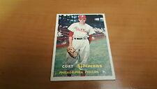 1957 Topps Baseball Card #158 Curt Simmons EXMT *1605