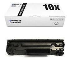 10x Euro Tone Eco Toner for HP LaserJet p-1609-dn p-1604 p-1569 p-1601