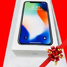Apple iPhone X - 256GB - Silver (AT&T) A1901 (GSM) (UNLOCKED)