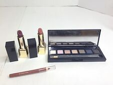 Estee Lauder Mixed Lot Of 4 Pure Color Envy Eyeshadow Lipsticks And Lip Liner