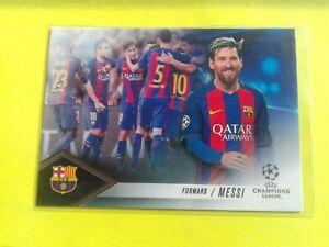 Lionel Messi 2017 Topps UEFA Champions League Showcase