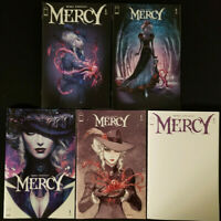 Mercy #1 First Print + Variants + Blank: 5 Cover Set Image Comics 2020