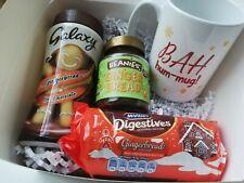 Gingerbread Lovers Christmas Gift Box.Beanies Coffee & Mug,Gingerbread Chocolate
