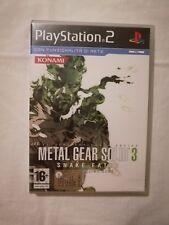 Metal Gear Solid 3 Snake Eater Ps2 Playstation 2 Pal Ita