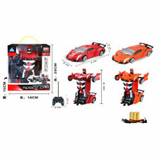 UK Toys for Kids Transformer RC Robot Car 2 IN1 Remote Radio Control Xmas Gift