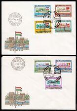 Ungarn 3514-20 B, FDC, Europäisches Donaukommission