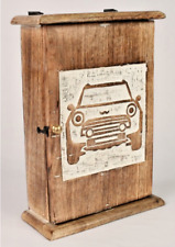 FREE DELIVERY Mini Cooper Key Box - Hand Crafted Carved Mango Wood