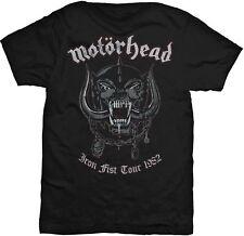 MOTÖRHEAD War Pig Iron Fist Tour 1982 T-SHIRT OFFICIAL MERCHANDISE