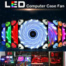 12V 2Pin PC Computer Case CPU Heatsink Cooler Cooling Fan With 15 LED Lights