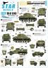 Star Decals 1/35 Británico Sharpshooters. 75th D-Day Especial #35-C1243