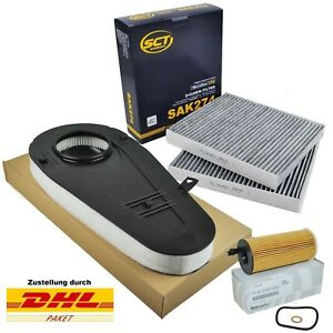 SCT & Original BMW Inspektionspaket BMW 5er F10 F11 520d 525d 7er F01 730d 740d