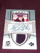 05-06 The Cup #101 Ryan Getzlaf Auto Patch RC 79/199 * Beauty 2CLR *