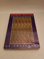 Hidden Depths . 32 AUTOSTEREOGRAM Postcards