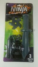 Ninja star knife playset toy  Costume games dress up Gift