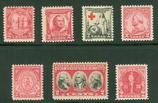 Postfrische Briefmarken aus den USA als Satz