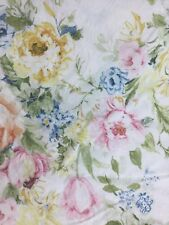 RALPH LAUREN HOME LAKE FLORAL FRENCH COUNTRY SHABBY QUEEN STANDARD PILLOWCASE